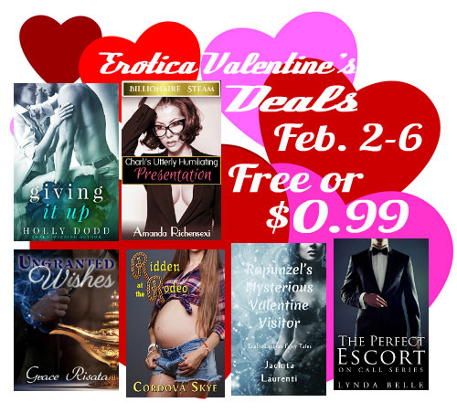 Book deals for Valentine's Day