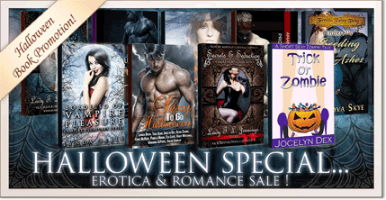 Halloween book promotion