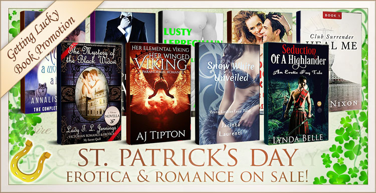 St Patricks romance and erotica books