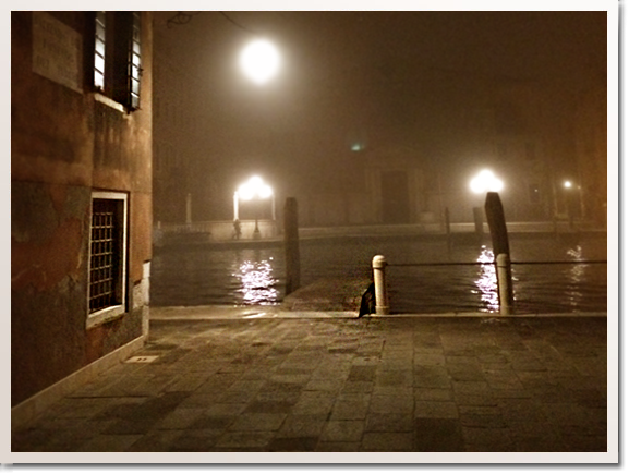 Venice by night romantic gothic